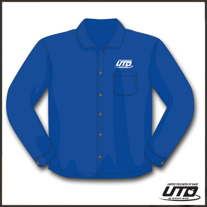 LSRBTL. Ladies Long Sleeve Royal Blue Twill