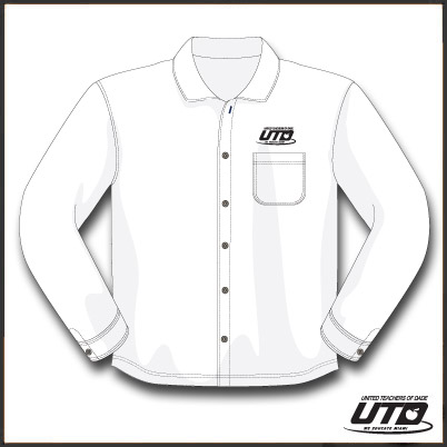 LSWTL. Ladies Long Sleeve White Twill